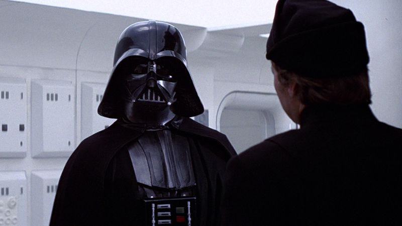 Read This The Visual Development Of Darth Vader