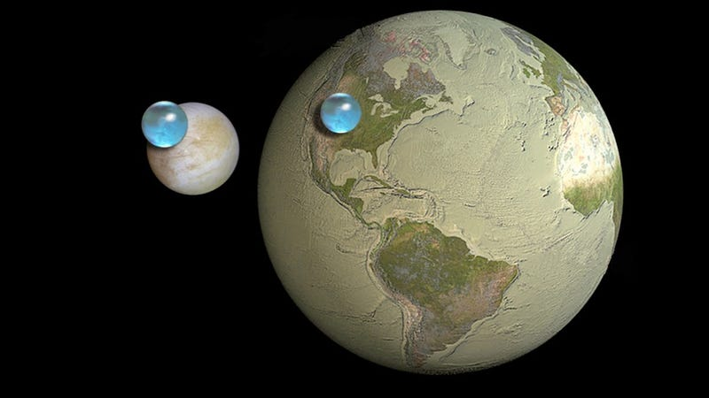 Illustration for article titled This Image Is Why Everyone's So Excited About A NASA Mission To Europa