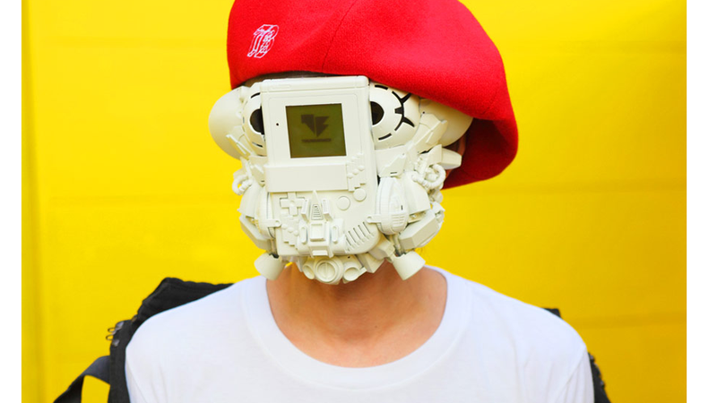 Illustration for article titled This Must Be The Coolest Game Boy Mask There Is