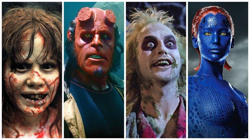 Illustration for article titled 10 maquillajes de películas tan impresionantes que transformaron por completo a los actores