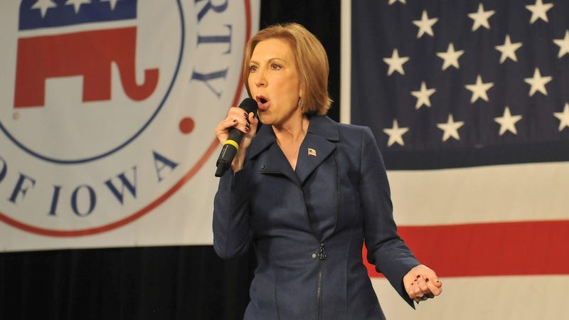 Illustration for article titled Carly Fiorina Backtracks on '92 Percent' Job Loss Claim