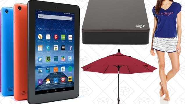 Sunday's Best Deals: $40 Tablet, 4TB External, Discounted Sleepwear, and More