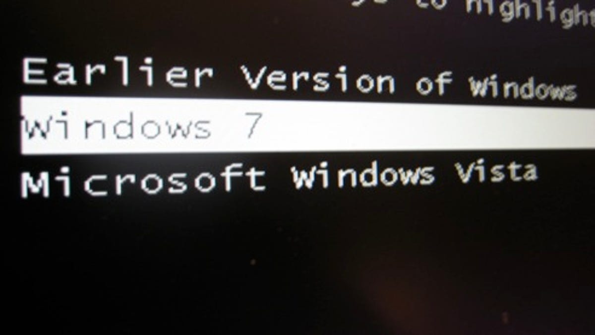 How to Dual Boot Windows 7 with XP or Vista