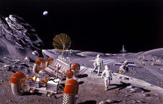 Illustration for article titled NASA plans to grow turnips and basil on the Moon