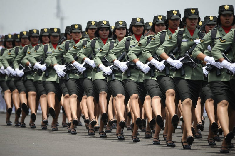 Illustration for article titled Indonesia Still Using Humiliating 'Virginity Tests' on Female Soldiers