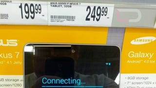 Illustration for article titled The 16GB Nexus 7 Reportedly Shows Up at Office Depot for Just $200