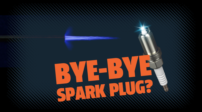 Illustration for article titled Swapping Spark Plugs for Quick Plasma Pulses Could Potentially Improve Efficiency by 20 Percent