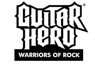 Illustration for article titled The Curtain Rises On Guitar Hero: Warriors Of Rock