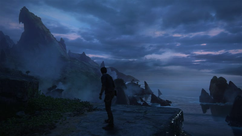 Uncharted 4: A Thief's End. Screenshot taken by me via the game's Photo Mode.