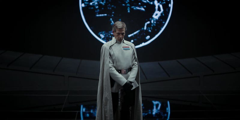 Despite rumors, we can now officially say this Rogue One character is Director Orson Krennic. Image: Lucasfilm