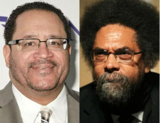 Michael Eric Dyson; Cornel WestKris Connor/Getty Images; Monica Schipper/Getty Images
