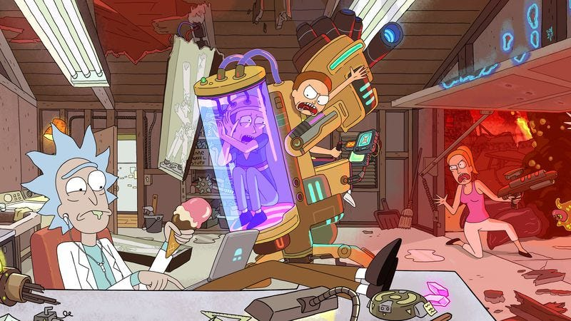 Illustration for article titled Does Rick And Morty have cross-generational appeal?