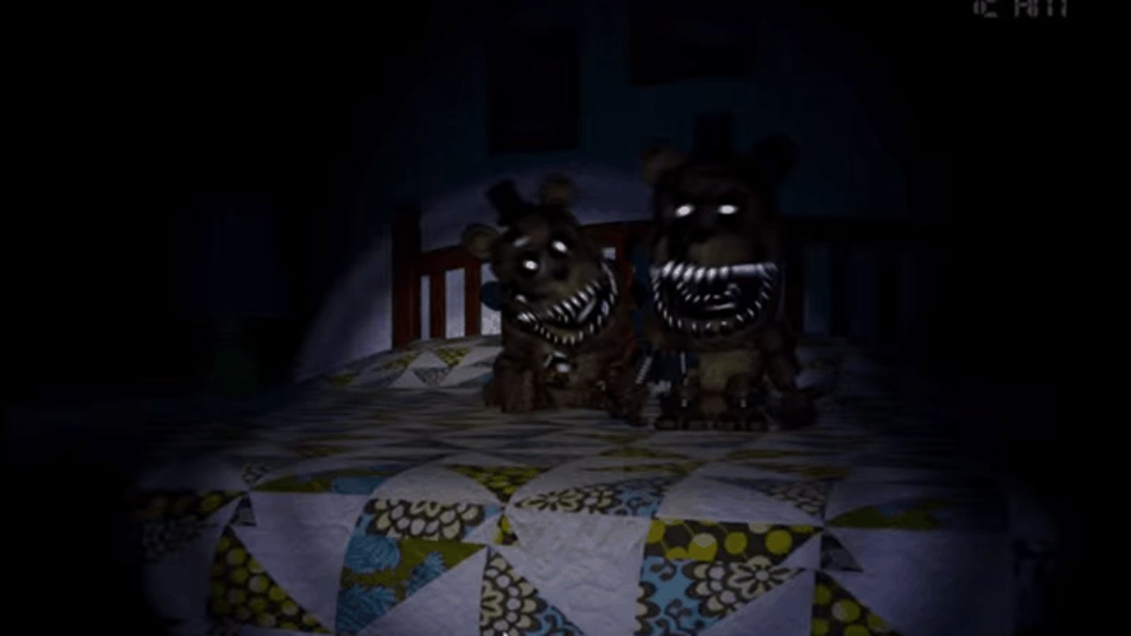 five nights at freddys 4 chest