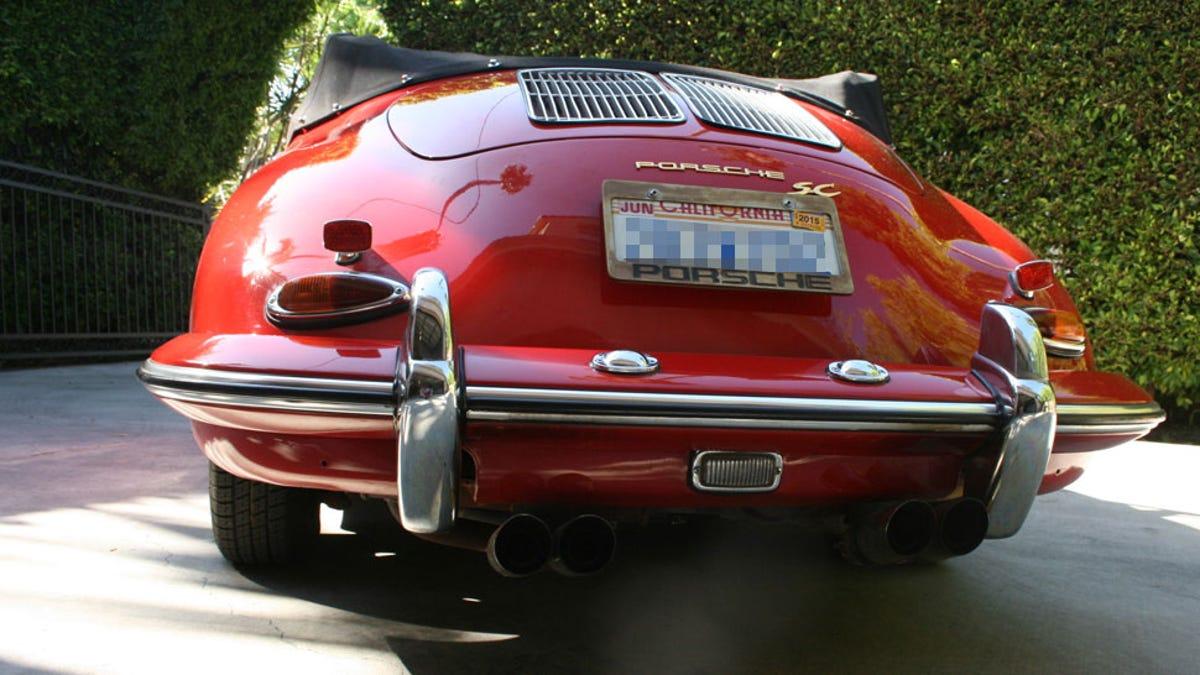 Bags Support Porsche 356 Rear Reflector Base