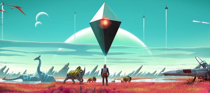Illustration for article titled No Man's Sky es una epopeya de ciencia-ficción en la que puedes perderte durante horas