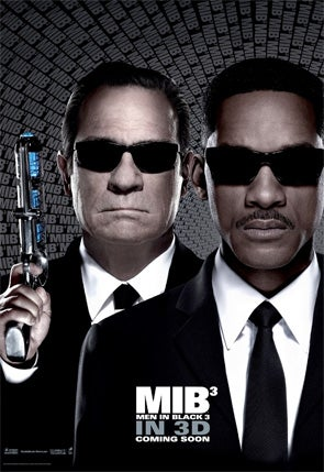 Illustration for article titled Men in Black III Posters