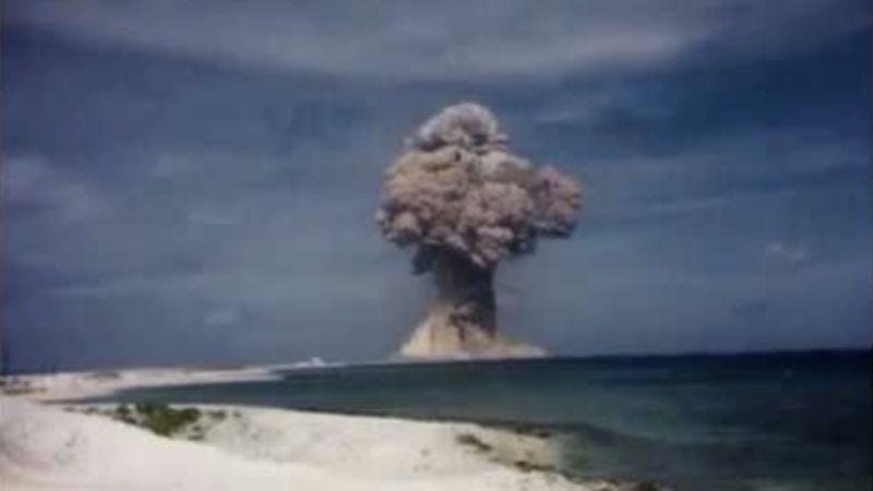 Illustration for article titled A bunch of newly declassified nuclear test films just showed up on YouTube