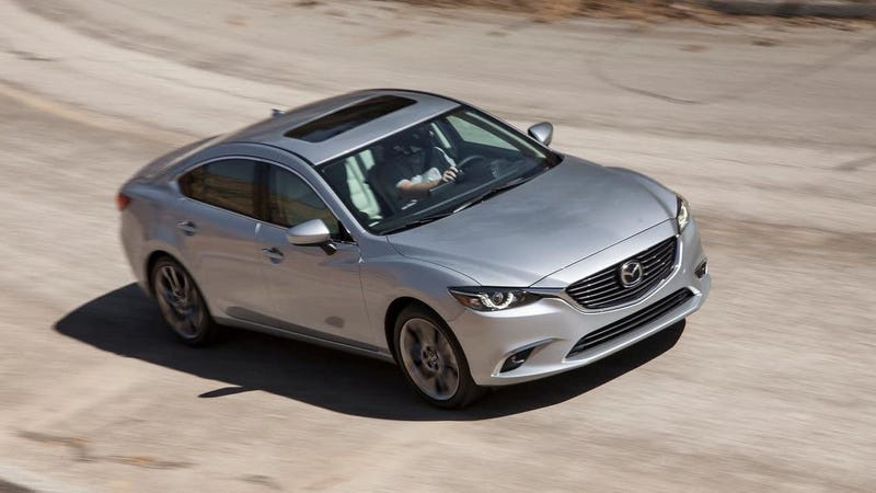 A 2016 Mazda 6