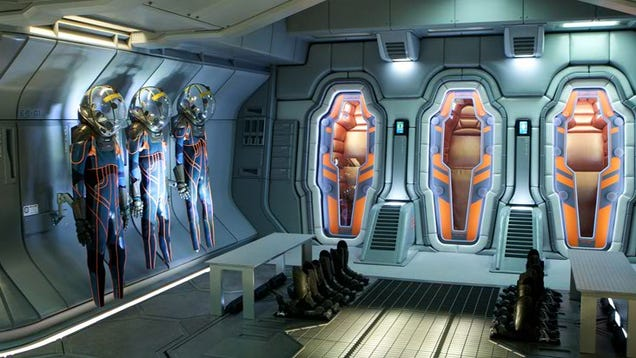 Massive Collection Of Prometheus Stills Take You Inside Ridley Scott 39 S New Spaceship