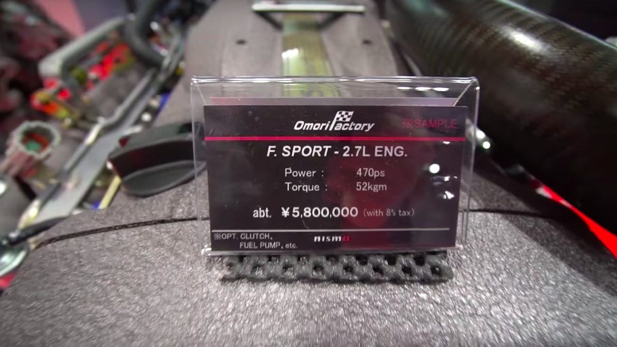 You Can Buy a New $50,000 R34 GT-R Engine From Nissan's Holy