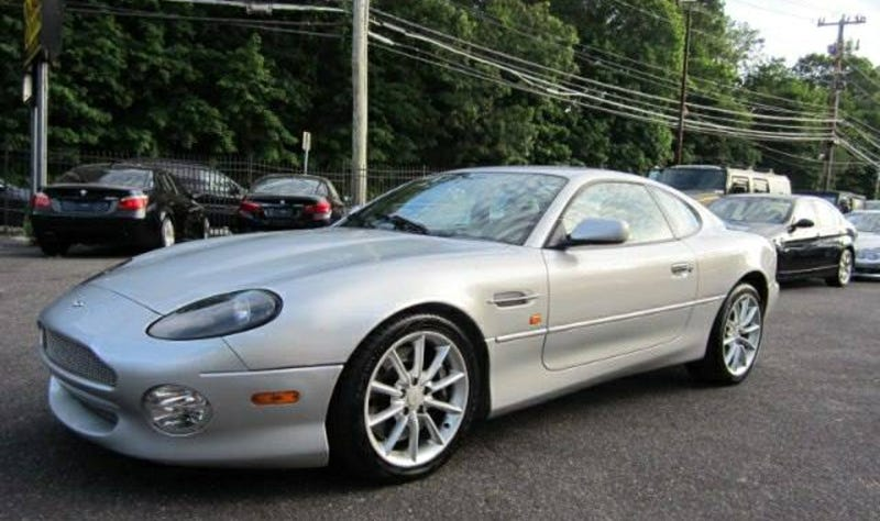 Illustration for article titled For $27,995 Could This 2002 Aston Martin DB7 Vantage Be The Best Worst Idea Ever?