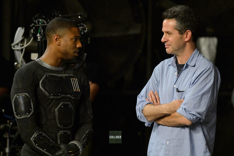 """Illustration for article titled First Glimpse Of Fantastic Four Costumes Reveals A """"Cronenberg-ian"""" Look"""