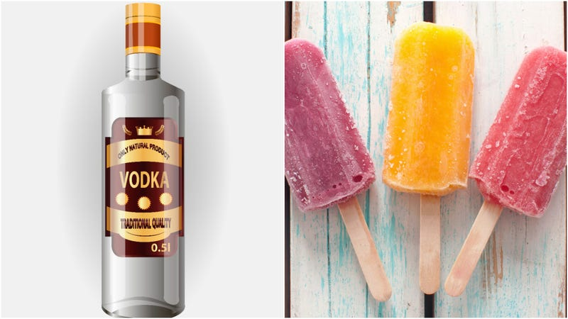 Illustration for article titled Vodka ice pops marry icy treats and possible public intoxication