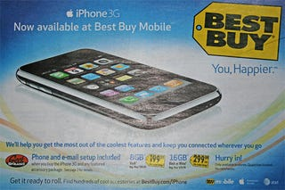 Illustration for article titled Best Buy iPhone 3G: Buy BS Accessory Package, Geek Squad Will Do What Apple Store Does for Free