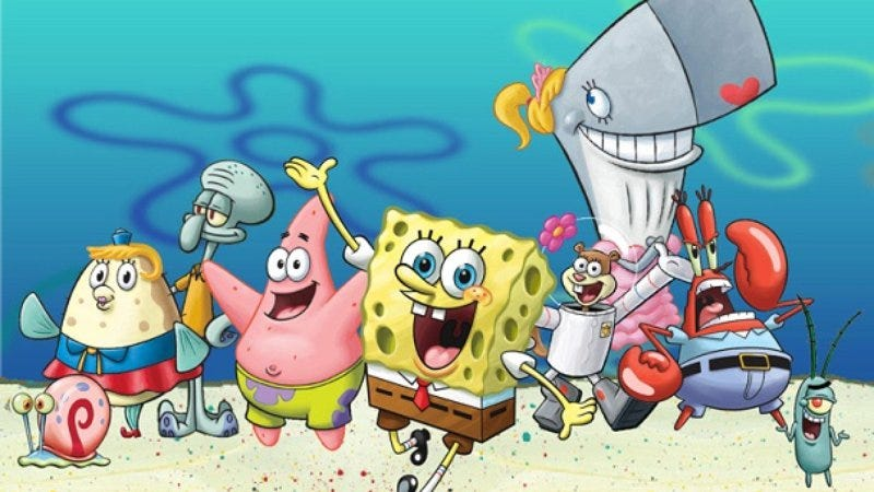 SpongeBob and pals (Photo: Nickelodeon)