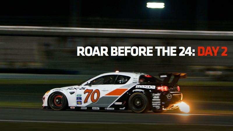 Illustration for article titled Daytona 'Roar Before The 24' Testing: Day Two