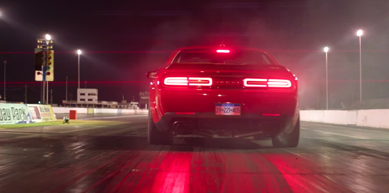 The Dodge Challenger SRT Demon Sounds So Nuts You Might Think It's Broken