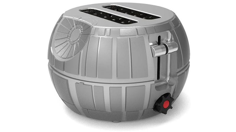 Illustration for article titled Innocent Slices of Bread Will Cower in Fear at This Death Star Toaster