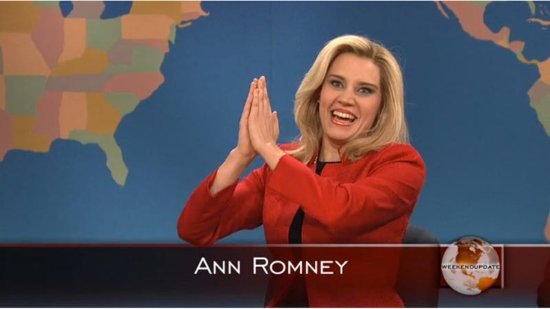Illustration for article titled Ann Romney's Beautiful Head of Hair Really Just Wants to Hang With Beyoncé