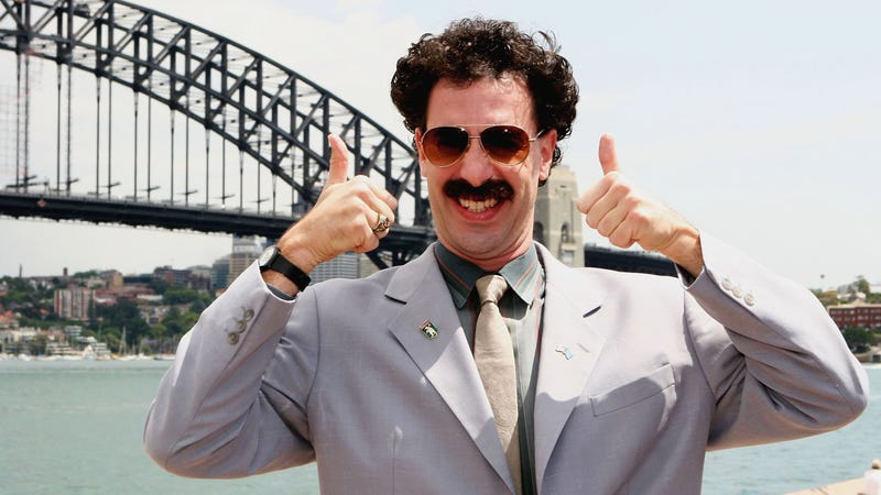 Illustration for article titled Australian politicians can't stop quoting Borat