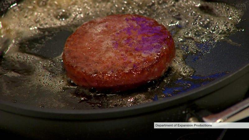 Illustration for article titled Mmm...lab burger