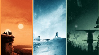 Illustration for article titled These stunning Star Wars posters can be yours this Weekend