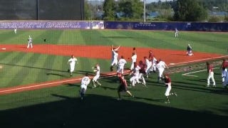 Illustration for article titled State Title-Winning Walkoff Walk Called Out After Team Mobs Player