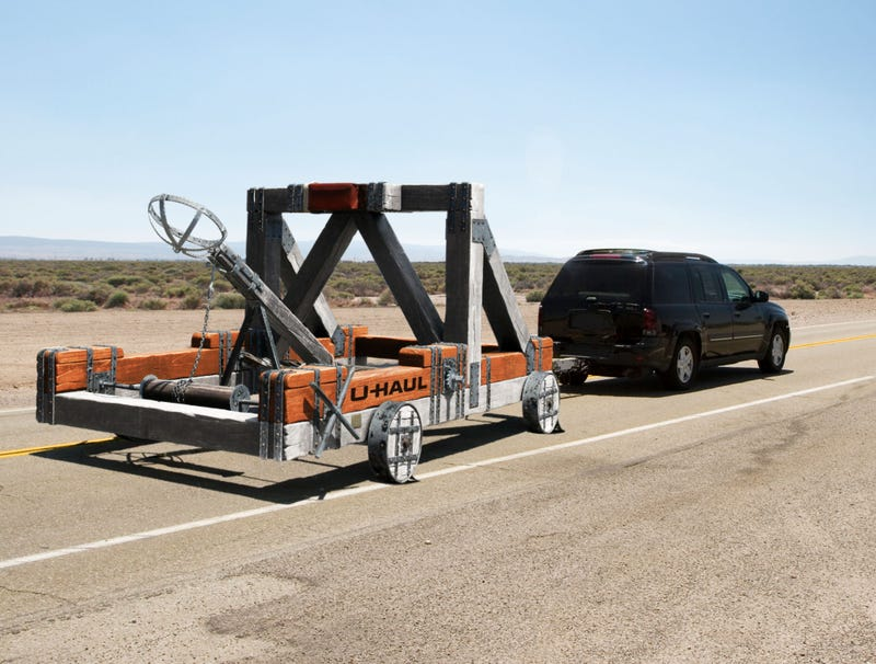 Illustration for article titled U-Haul Introduces New Catapult Rental Service