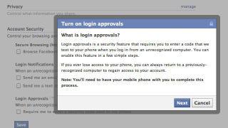 "Illustration for article titled Set Up ""Login Approvals"" in Facebook for Better Security"