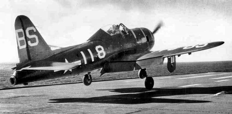 The Navys First Jet Aircraft Also Had A Propeller