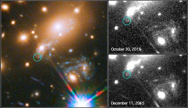 Por primera vez, los astrónomos predicen y captan la violenta explosión de una estrella