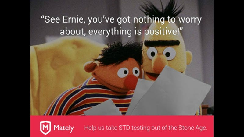 Illustration for article titled Turns Out You Can't Just Use Bert and Ernie in Your STD Awareness Campaign