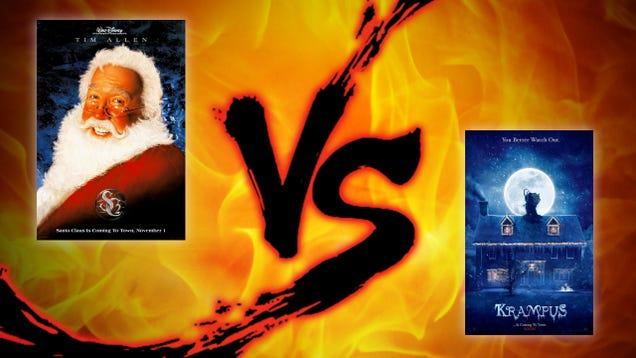 Christmas Sunday Showdown: Santa vs. Krampus | Utter Buzz!