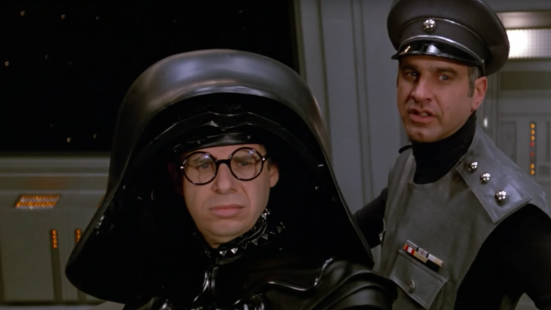 Illustration for article titled Rick Moranis to come out of retirement for a Spaceballs episode of The Goldbergs
