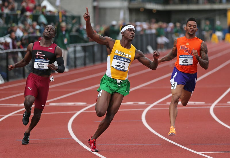 Illustration for article titled Freshman Sprinting Phenom Wins NCAAs, Sets World Junior Record