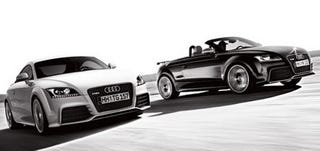 Illustration for article titled Audi TT RS: 340 HP, First Unofficial Official Photos!