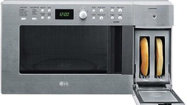 Microwave With Built In Toaster ~ Lg mates microwave and toaster creates frankenmicrotoaster