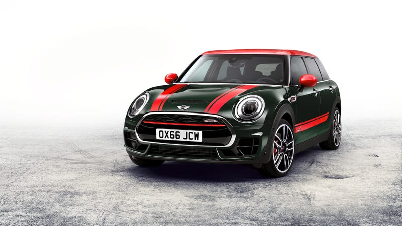 The 2016 John Cooper Works Mini Clubman Got A Lot Of Torque For