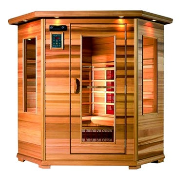Illustration for article titled Infrared Sauna, Burn Calories While Doing Nothing