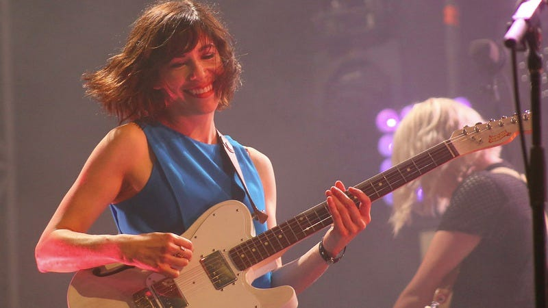 Sleater-Kinney's Carrie Brownstein (Photo: Robert Loerzel)